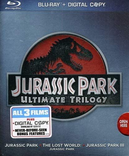 Jurassic Park Ultimate Trilogy Blu-ray Used