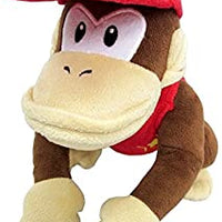 "Super Mario All Star Collection Diddy Kong 7"" Plush"