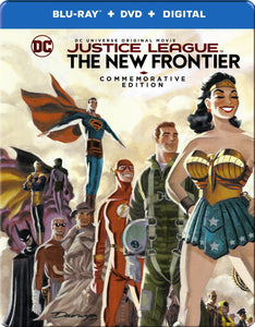 Justice League The New Frontier (Steelbook) Blu-ray New