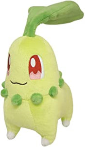 "Pokemon All Star Collection Chikorita 6"" Plush"