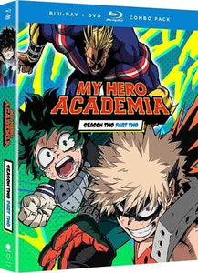 My Hero Academia Season Two Part Two Blu-ray Used