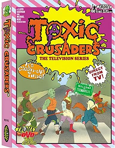 Toxic Crusaders The Television Series DVD Used