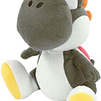 "Super Mario All Star Collection Yoshi (Black) 7"" Plush"