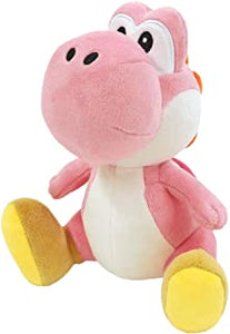 "Super Mario All Star Collection Yoshi (Pink) 7"" Plush"