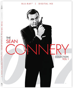 007 The Sean Connery Collection Volume 1 Blu-ray Used