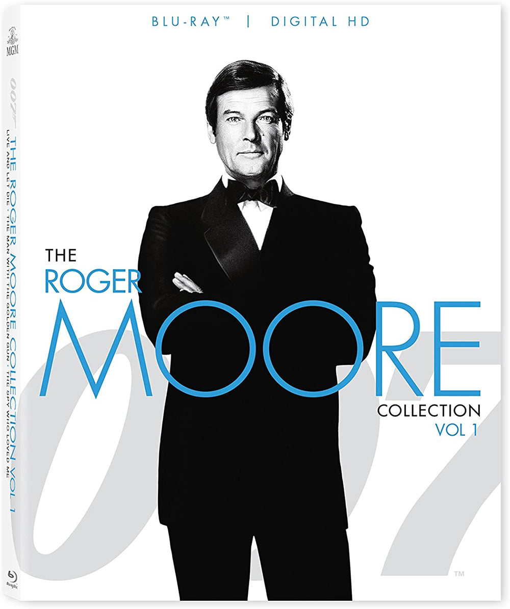007 The Roger Moore Collection Volume 1 Blu-ray Used