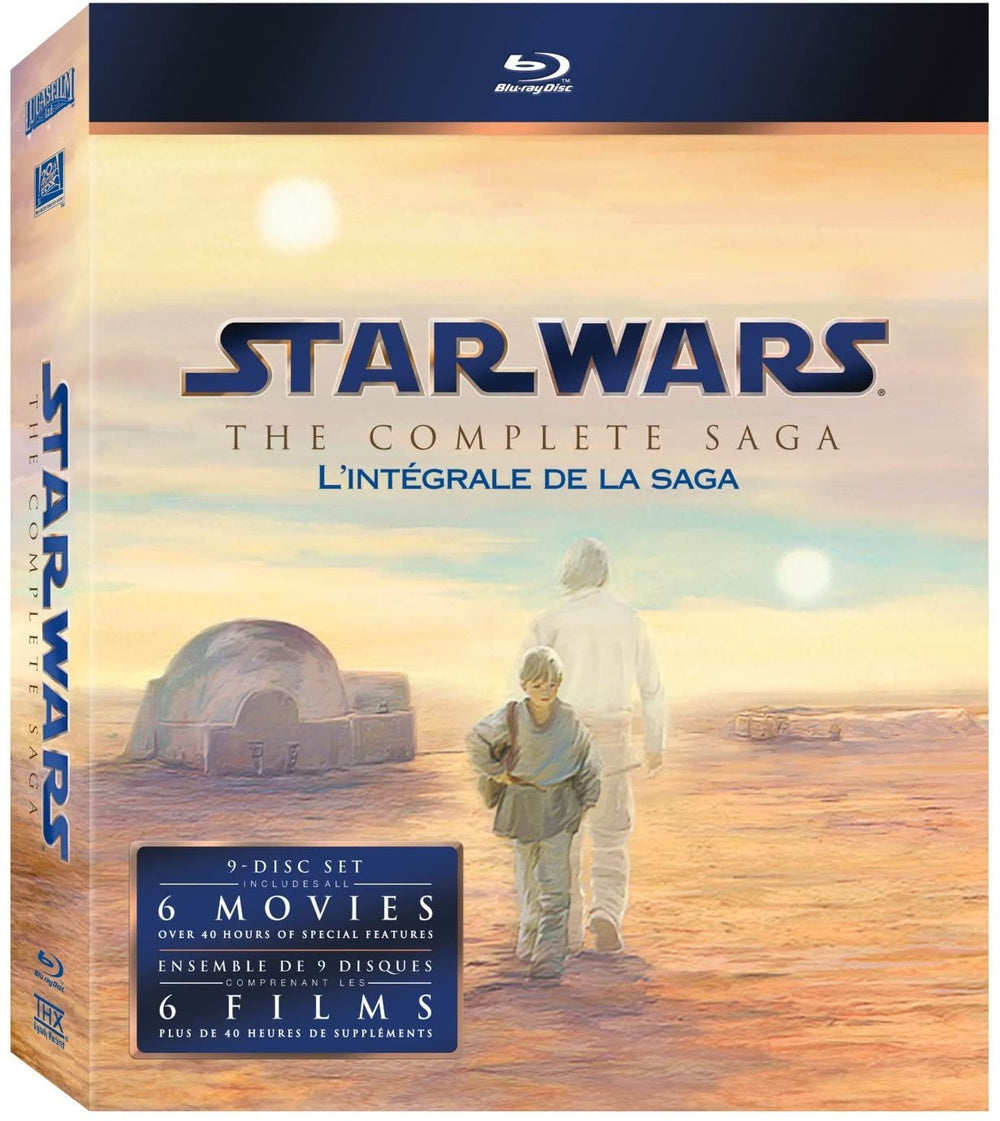 Star Wars The Complete Saga Blu-ray Used