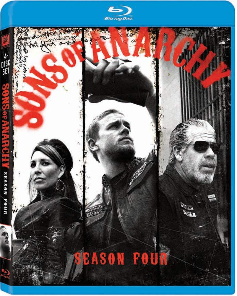 Sons of Anarchy Season Four Blu-ray Used