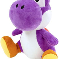 "Super Mario All Star Collection Yoshi (Purple) 7"" Plush"