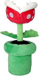 "Super Mario All Star Collection Piranha Plant 9"" Plush"
