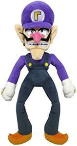 "Super Mario All Star Collection Waluigi 12.5"" Plush"