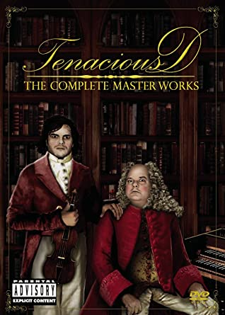 Tenacious D The Complete Masterworks DVD Used