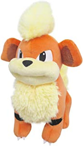 "Pokemon All Star Collection Growlithe 7"" Plush"