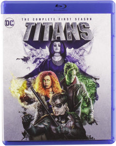 Titans The Complete First Season Blu-ray Used