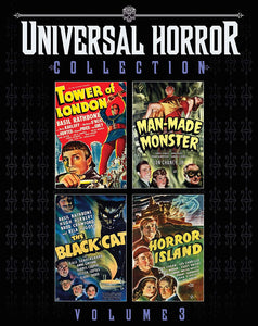 Universal Horror Collection Volume 3 Blu-ray Used