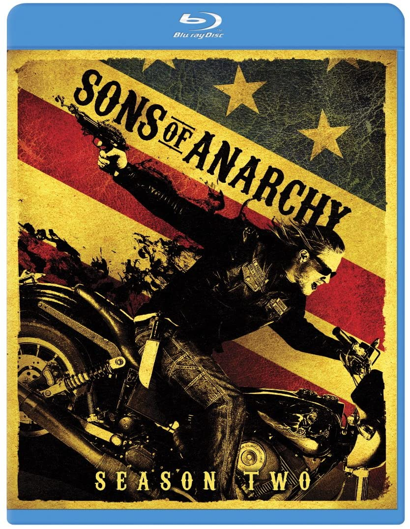Sons of Anarchy Season Two Blu-ray Used