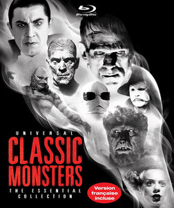 Universal Classic Monsters The Essential Collection Blu-ray Used