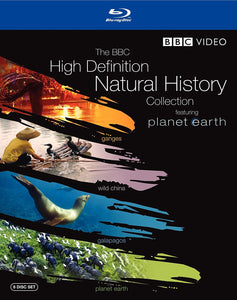 BBC High Definition Natural History Collection Blu-ray Used