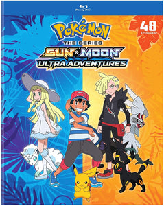Pokemon The Series: Sun & Moon Ultra Adventures Blu-ray Used