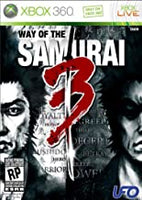 Way of the Samurai 3 Xbox 360 Used
