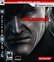 Metal Gear Solid 4 (Greatest Hits) PS3 Used