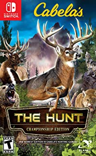 Cabela's The Hunt: Championship Edition Switch Used