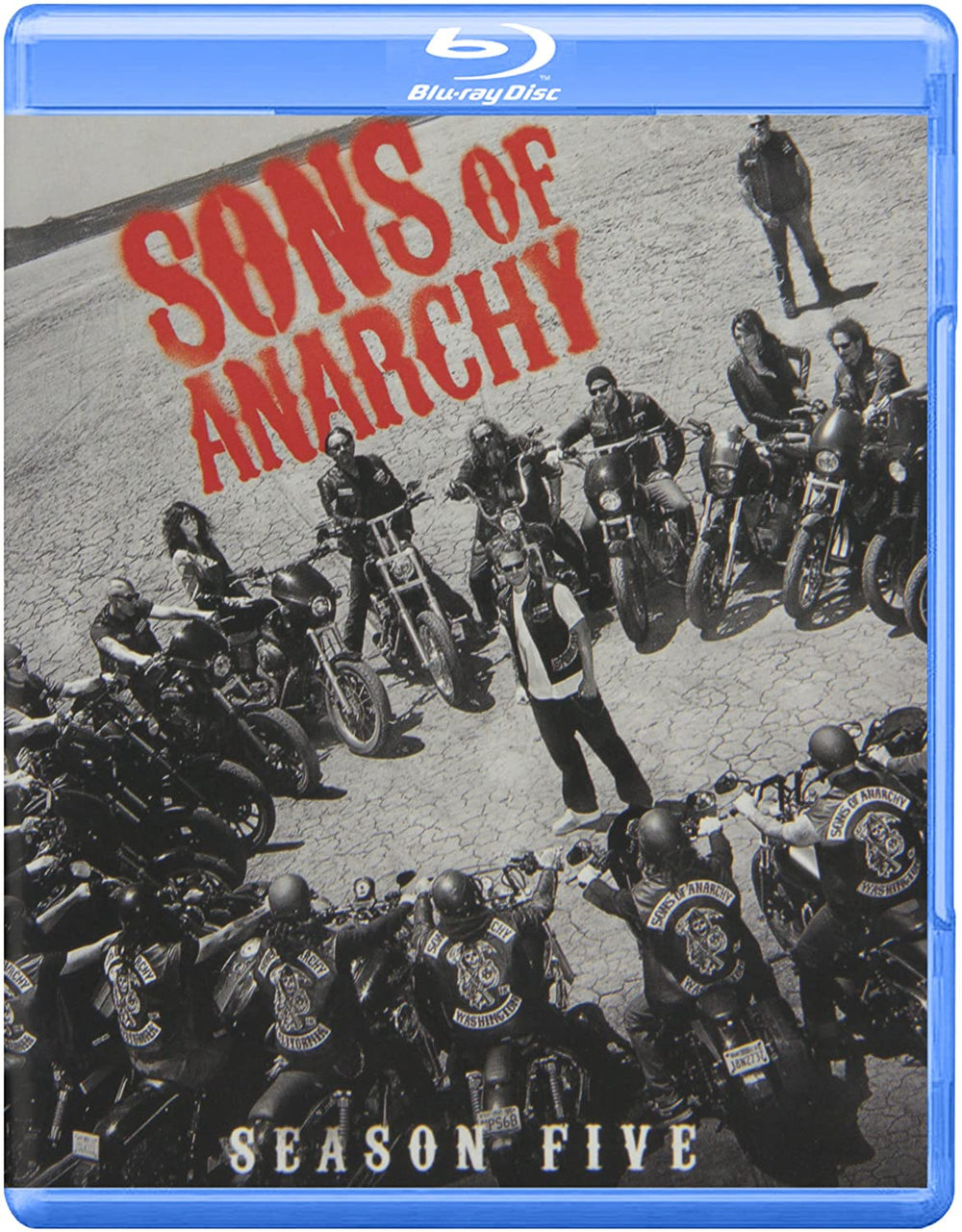 Sons of Anarchy Season Five Blu-ray Used