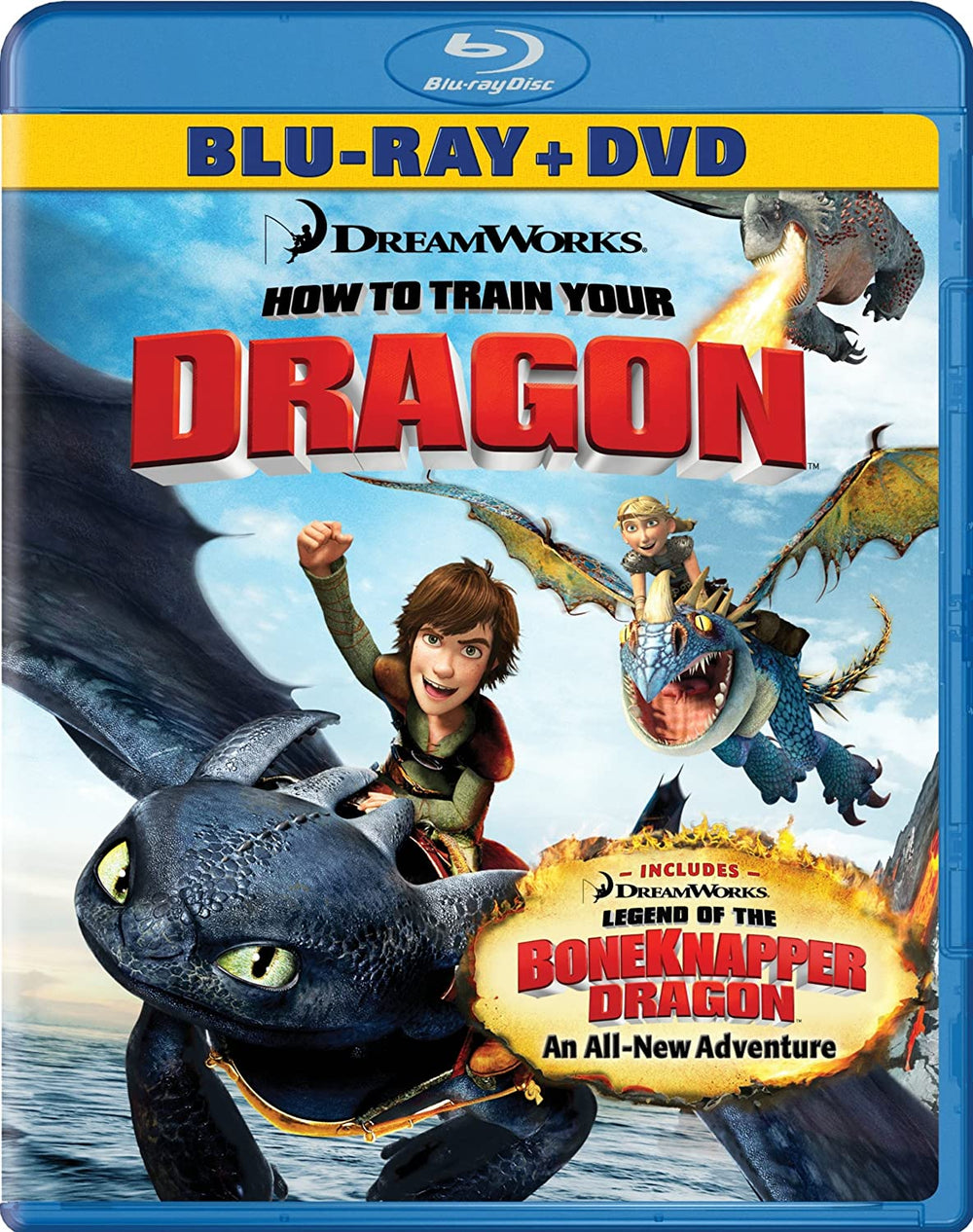 How to Train Your Dragon Blu-ray Used