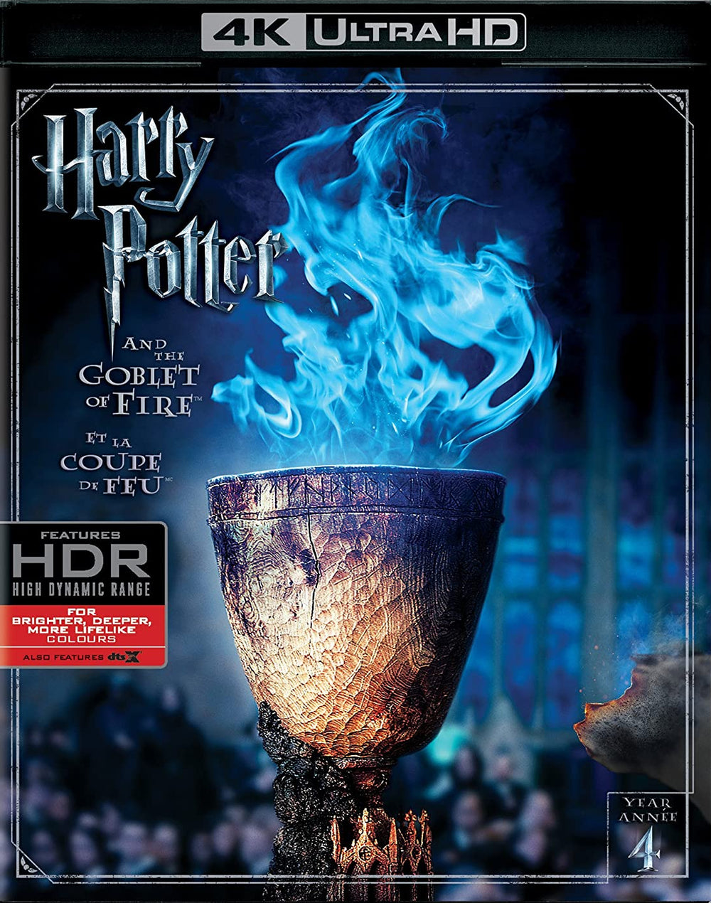 Harry Potter and the Goblet of Fire 4K Used