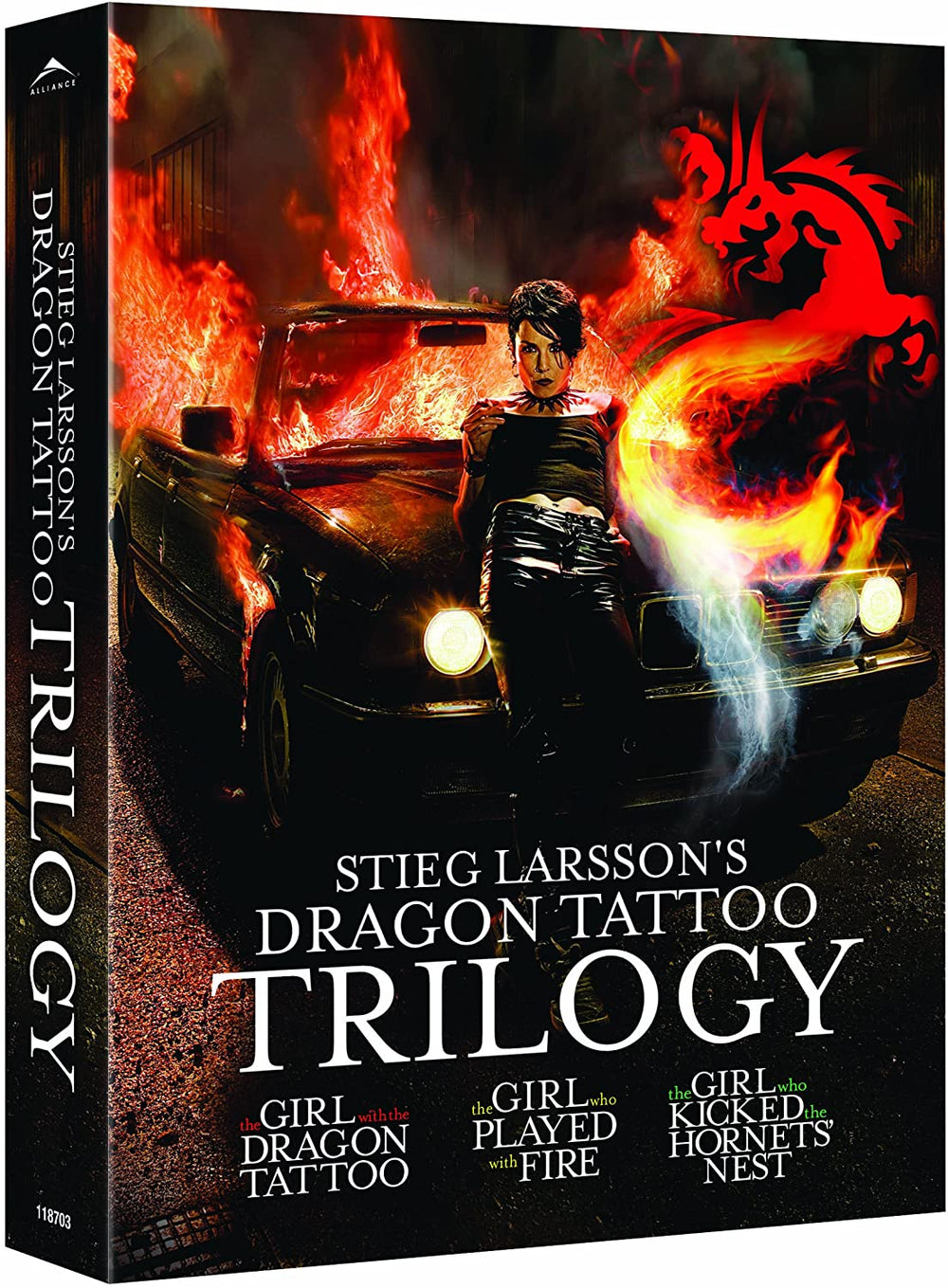 Dragon Tattoo Trilogy DVD Used