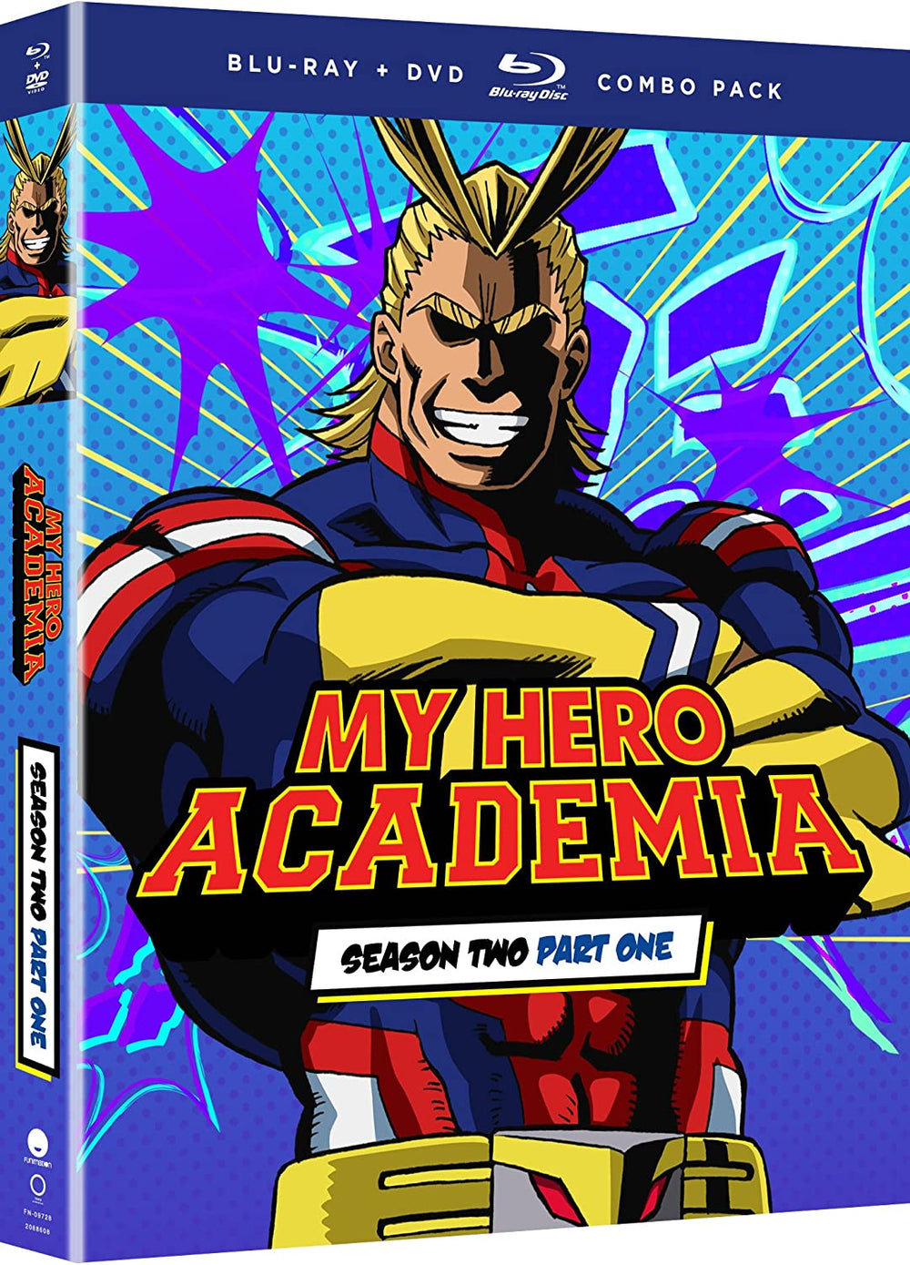 My Hero Academia Season Two Part One Blu-ray Used