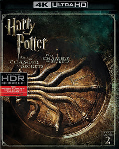 Harry Potter and the Chamber of Secrets 4K Used
