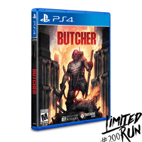 Butcher (Limited Run) PS4 New