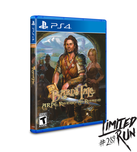 Bard's Tale ARPG: Remastered and Resnarkled (Limited Run) PS4 New