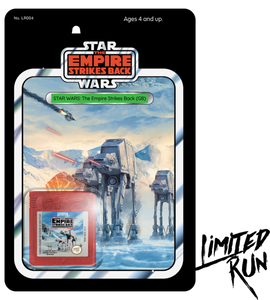 Star Wars: The Empire Strikes Back Classic Edition (Limited Run) Game Boy New