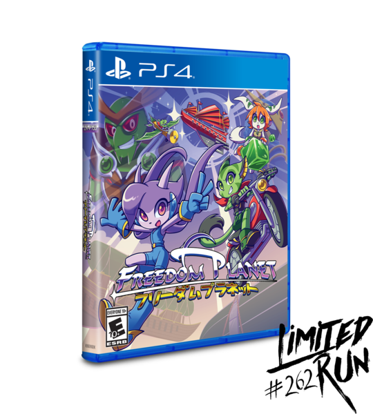 Freedom Planet (Limited Run) PS4 New