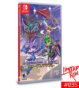 Freedom Planet (Limited Run) Switch New