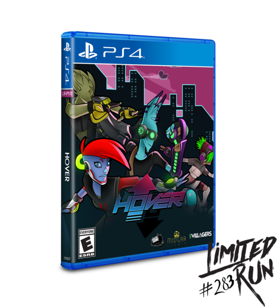 Hover (Limited Run) PS4 New