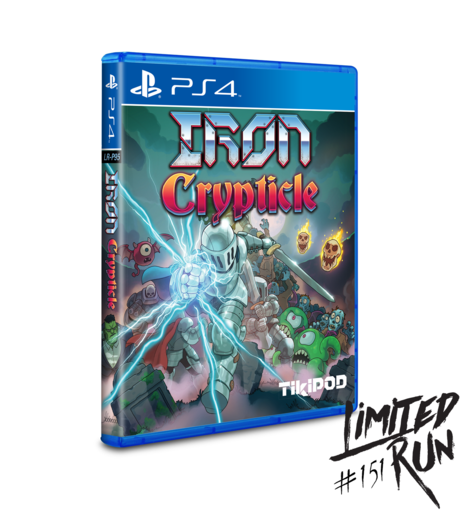 Iron Crypticle (Limited Run) PS4 New