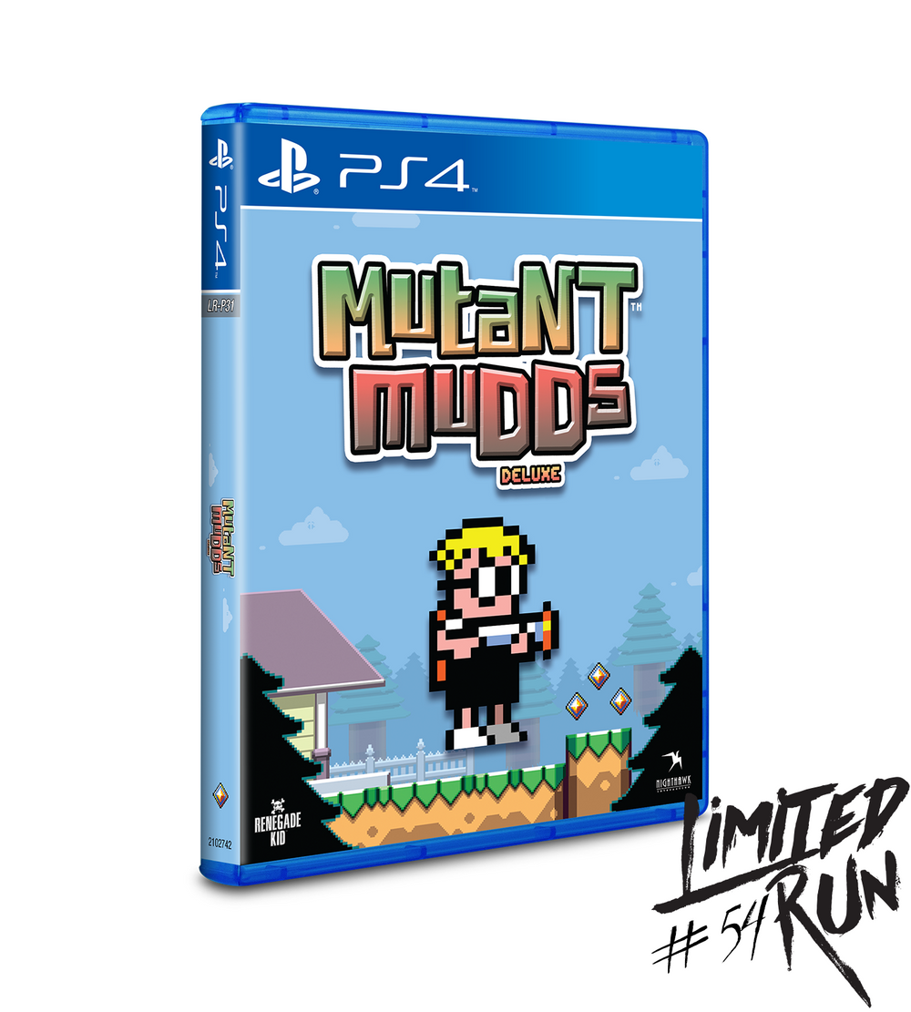 Mutant Mudds Deluxe (Limited Run) PS4 New