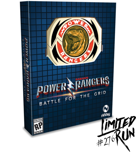 Power Rangers: Battle for the Grid Mega Edition (Limited Run) PS4 New