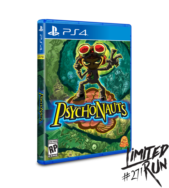 Psychonauts (Limited Run) PS4 New
