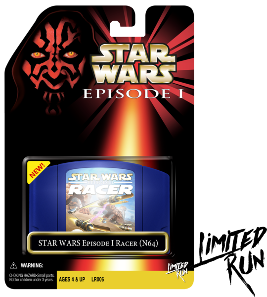 Star Wars Episode 1 Racer Classic Edtion (Limited Run) N64 New