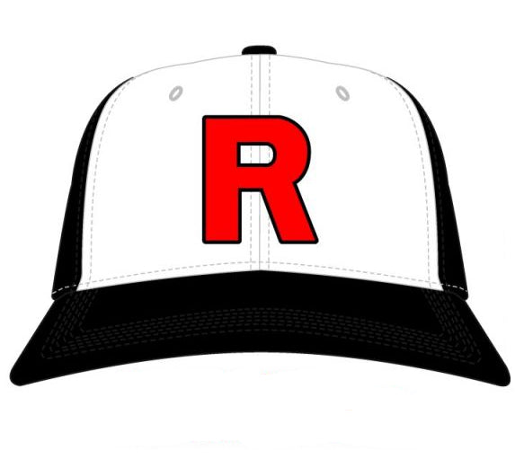 Pokemon Team Rocket Hat