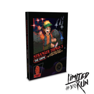 Stranger Things 3: The Game Classic Edition (Limited Run) PS4 New