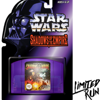 Star Wars: Shadows of the Empire Classic Edition (Limited Run) N64 New