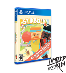 Stikbold! A Dogeball Adventure (Limited Run) PS4 New