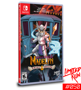 Battle Princess Madelyn Royal Edition (Limited Run) Switch New