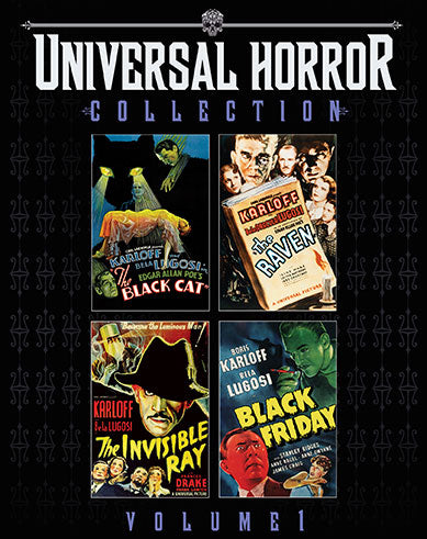 Universal Horror Collection Volume 1 Blu-ray Used