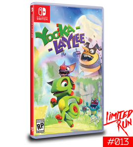 Yooka-Laylee (Limited Run) Switch New
